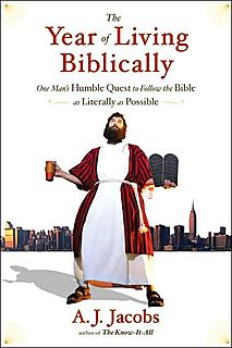 Yearlivingbiblically