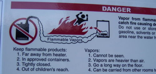 Flammablevaporsafety