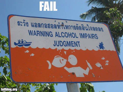 Fail-owned-drunk-drown-fail
