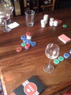 Poker aftermath