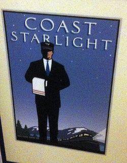 Coast starlight logo