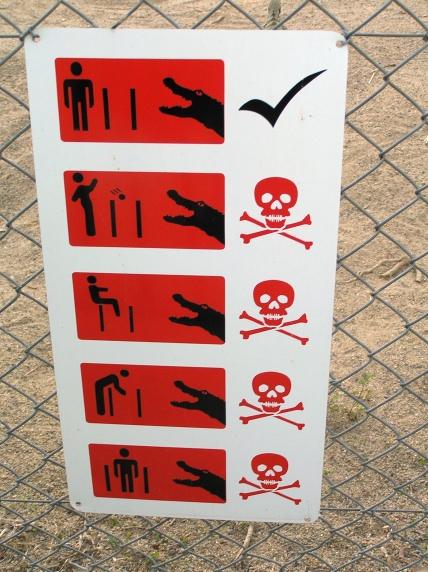 Croc Safety Sign(JasonM)