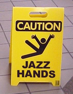 GLEE-JAZZ-HANDS(Klotz)