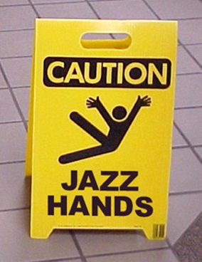 GLEE-JAZZ-HANDS(Klotz)