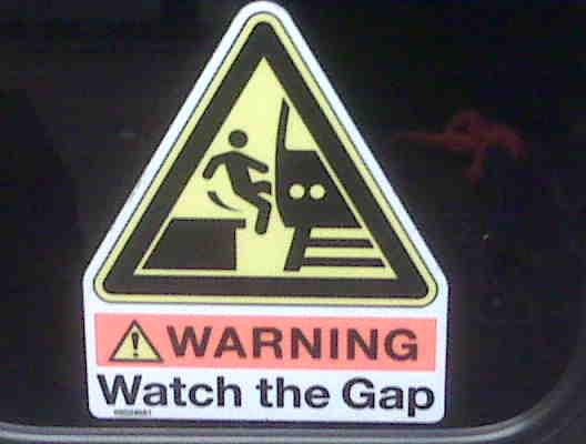 WatchTheGap(allibean!)