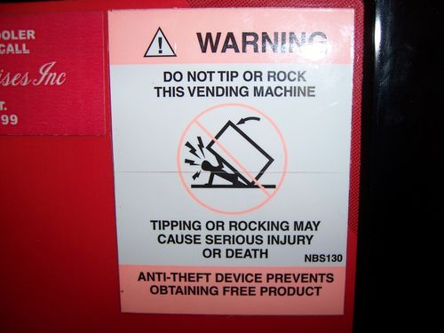VendingMachineSafety