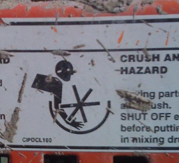 Crushhazard
