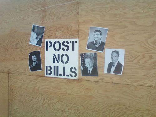 PostNoBills