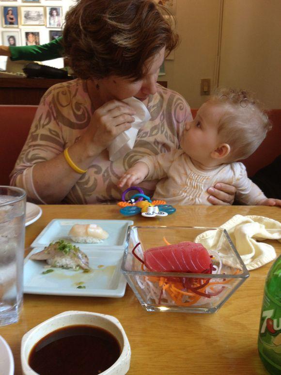 356/2012: Day 159 Sushi!
