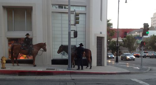 MountedPoliceHollywood