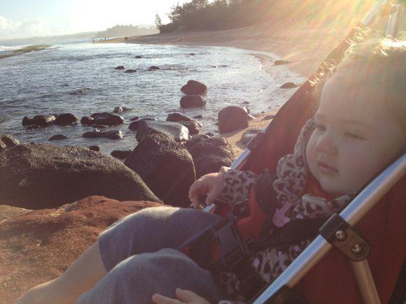 366/2012: Day 364 Baby at Baby Beach