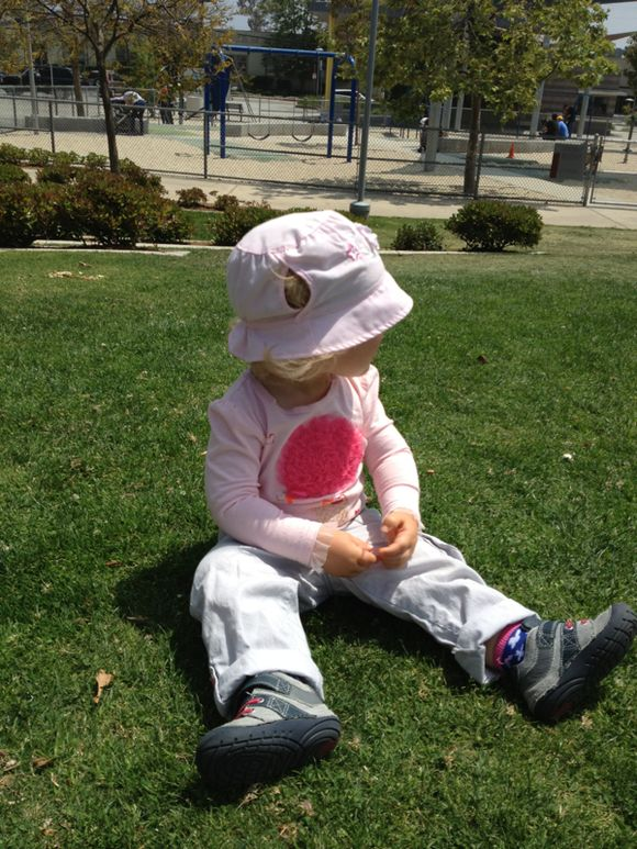Sunday In the Park with Harper In Aprill