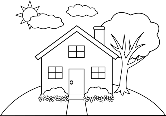 House_on_hill_line_art_2