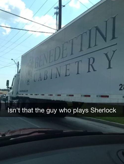 Funny-truck-Sherlock-actor-brand