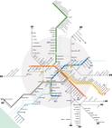 Стоимость проезда в метро Рима составляет 1 евро (2013) за одну поездку, билет Схема римского метро, фото, Рим...